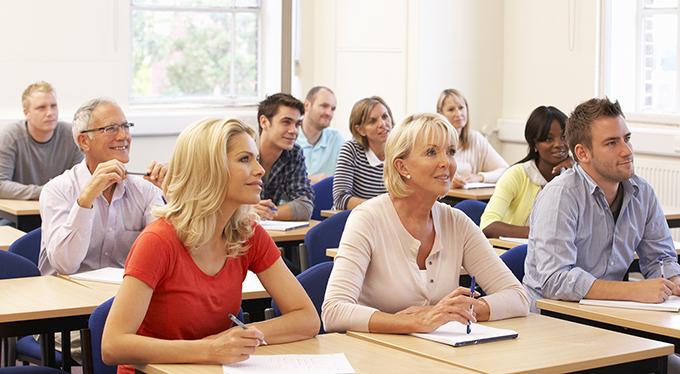 Grown-ups Returning to Education